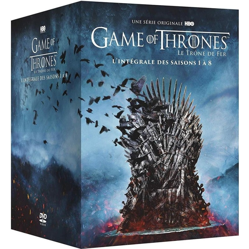 Game of Thrones - Intégrale saisons 1-8 (Coffret DVD)