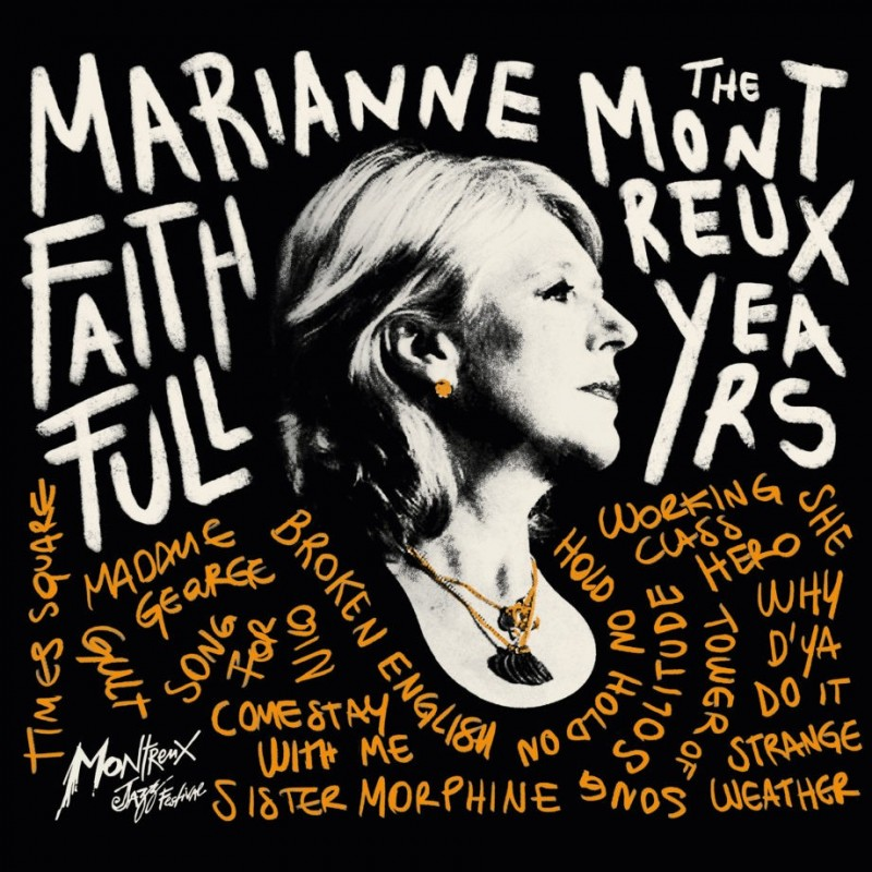 Marianne Faithfull The Montreux Years –  CD