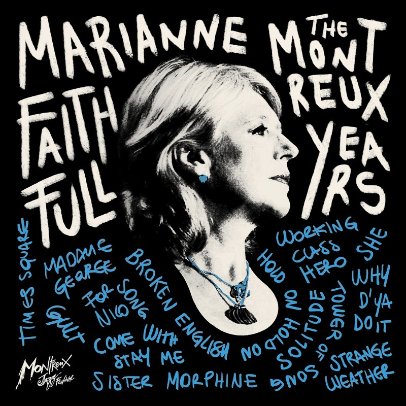 Marianne Faithfull The Montreux Years – double vinyle